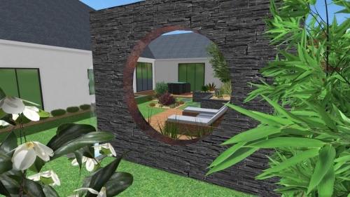 Conception paysagère en 3D